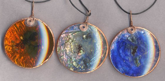Carol Park, UK. optical pendants