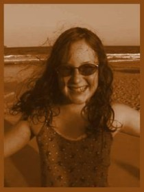 Sepia effect- copy and paste pic into layer/background filled with colour/layer1 set to hard light 78