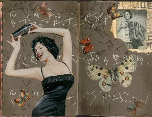 Megan Whisner altered book