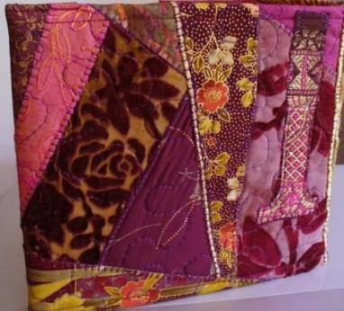 Loose Fabric Covered Photo Album