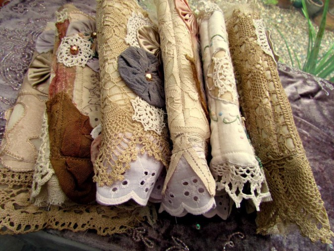 Fabric Journal Stack