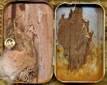 Sylvia Kleindinst NY, weatherd wood and natural rust