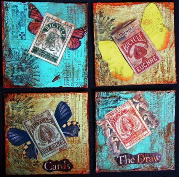 Cards & Butterflies by Mary Ann Severin