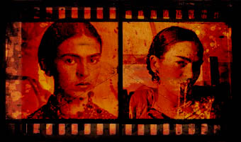 frida film strip using the customizable film strip