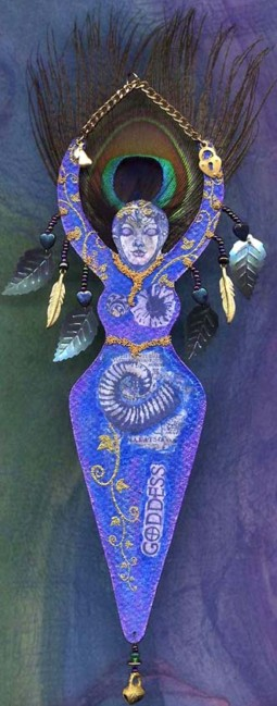 Patti Sandham, Peacock Goddess1