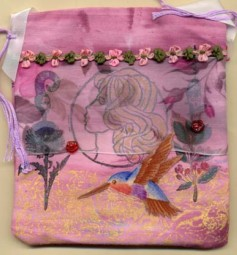 Libby Magnello, purse back