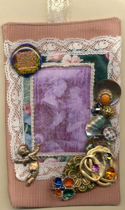 Linda Lynch, fabric hanging
