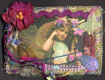 Fabric ATC for Carla Naron's swap