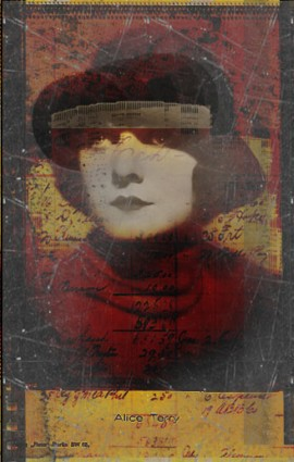 Gillian Allen. Using photoshop brushes and 'old looking images' tutorial from good-tutorials.com