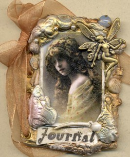 Polymer Clay small Journal Cover 3