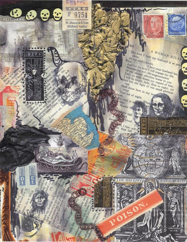 Clarissa Sharp, grunge collage 1