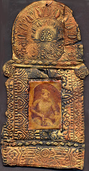 Gillain Allen/ Relic from the Raj.polmerclay