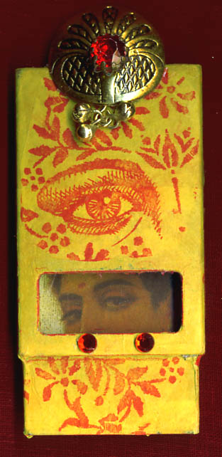 Mo Wassell, OK/ matchbox shrine