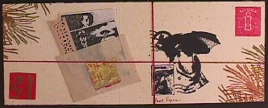 Fast Eyes:Japanese Mail Art,back