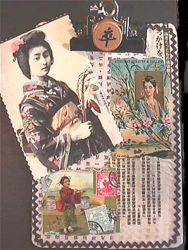 Helga Strauss,Japanese Clipboard