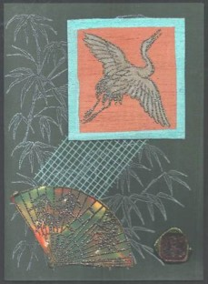 Sue Debling Japanese card