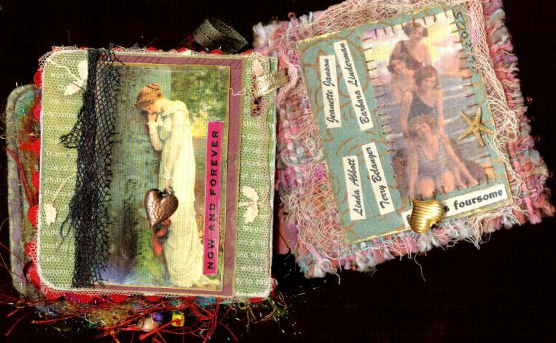 Linda  left page Barbara right page
