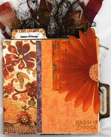 Autumn CD Folder Book