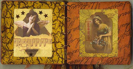 Slide Mount Altered Book 2