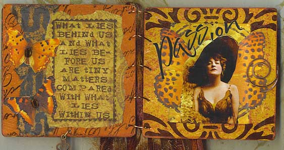 Slide Mount Altered Book 3
