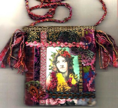 Hawaiin Girl purse