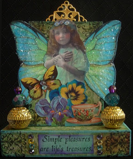 "ATC Block Assemblage ""Simple Treasures"""