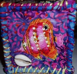 quilted box, side