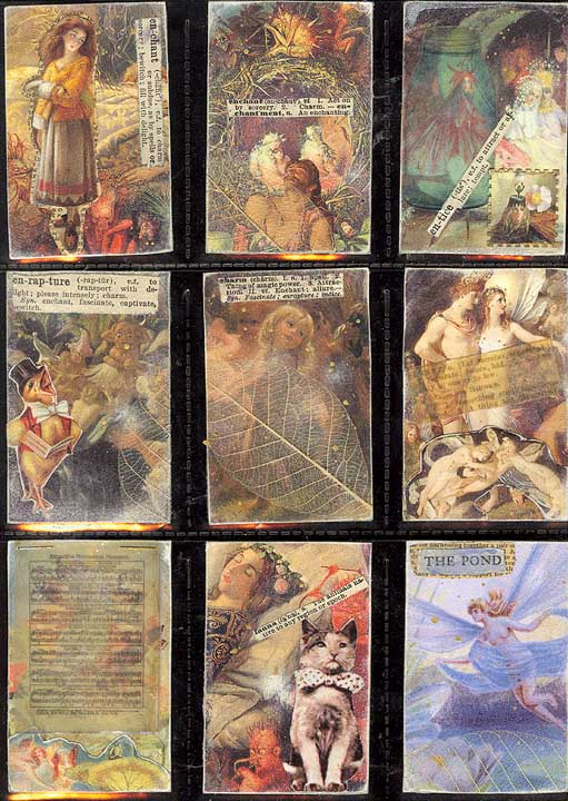 Denise Lombardozzi 'Enchanted-Forest' Artist Trading Cards