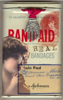 DeniseLombardozzi, altered bandaid tin