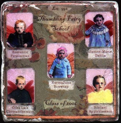 fairy school tile Maria Lamb