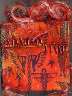 Belinda Schneider, Germany. Red Angel purse
