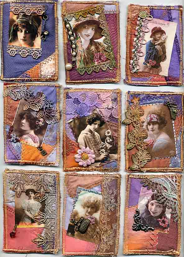 Patricia Thornhill, Fabric ATCs