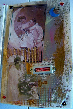 Laurianna Murray Altered Book pages