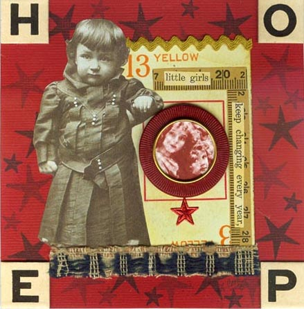 Lisa Cook  Collage 'for Erica'