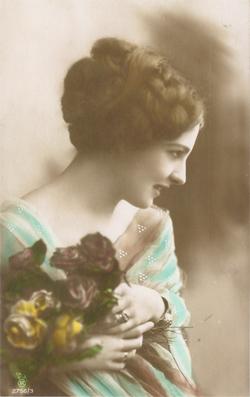Clarissa Sharp,antique photo lady
