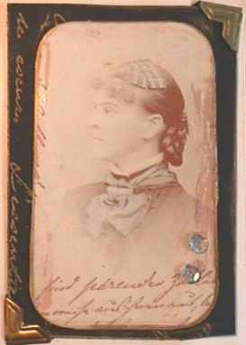 Marie Skrotzki,Keepsake book/Victorian photo