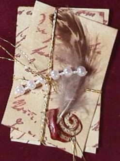 Marie Skrotzki,Keepsake book/Cover collage detail