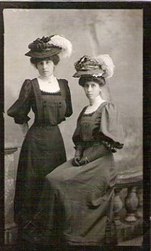 sent in by, June Yarham Caxton sisters