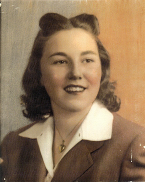 1930's Vintage image of Lynn Schultz 's mother, Irma Jensen
