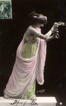 Vintage photo of lady/Greco Woman from BelindaSchneider