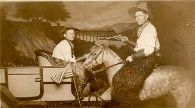 Antique Photo, Cowboys