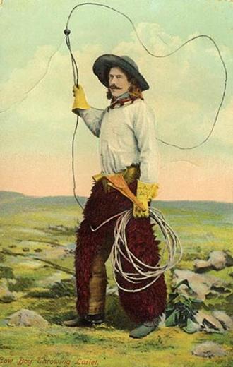 Vintage Photo Cowboy Buck Taylor