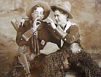Vintage Photo, Cowboys drinking