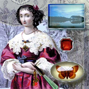 Carol Parker Gem digital Collage
